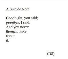 Suicide Quotes And Sayings Suicide