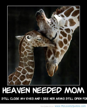 LOVELY angel mom quotes