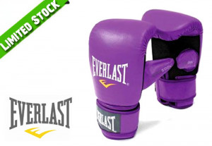 Everlast Authentic Training Gloves Purple