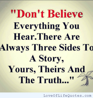 related posts don t believe everything you hear can you hear those ...