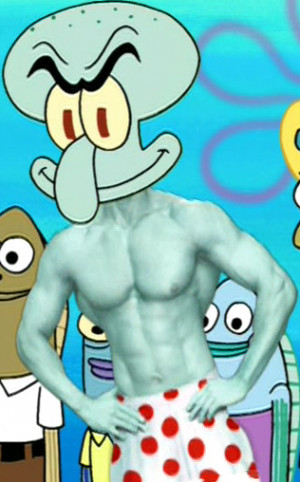 Like Squidward, Squilliam is a narcissist . He considers himself to be ...
