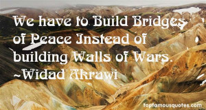 Top Quotes About Building Walls