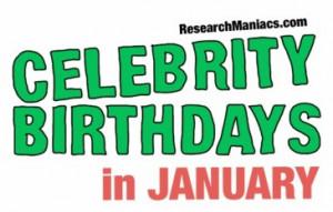 Birthdays January