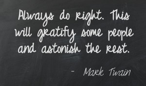 ... will gratify some people and astonish the rest. ~ Mark Twain #quotes