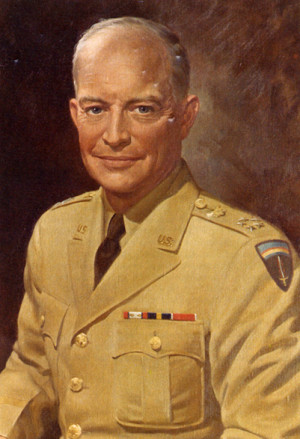 President Dwight David Eisenhower was the 34th President of the united ...