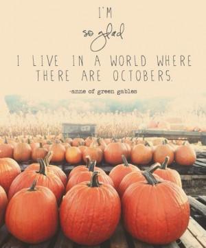 ... Quotes, Seasons, Pumpkin, Autumn, Greengables, I Love Fall, October