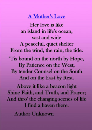 Missing Mom Poems From Daughter Happiness quotes