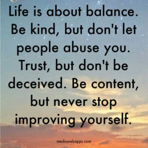 Never stop improving yourself
