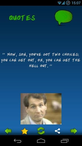 View bigger - Al Bundy Quotes for Android screenshot