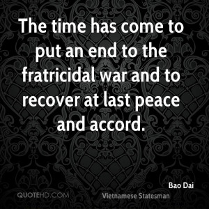 Bao Dai Quotes