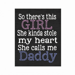 my heart chalkboard print- so there's this girl, stole my heart, she ...