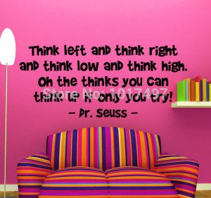 Ebay-hot-Multiple-color-dr-seuss-wall-decal-quote-dr-seuss-wall ...