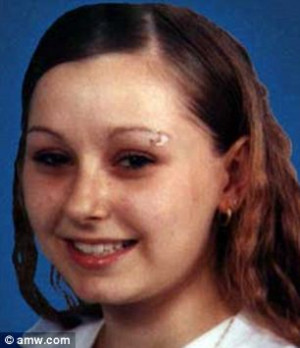 Before the kidnapping: Amanda Berry, pictured before her disappearance ...