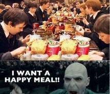 fat, funny, happy meal, harry potter, hogwarts, lol, mcgonagall ...