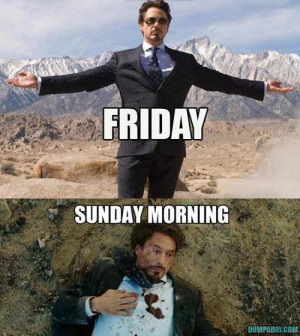 Friday to Sunday