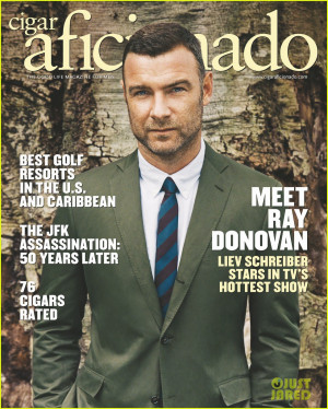 Liev Schreiber Cigar Aficionado November/December 2013