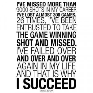 12x18) Michael Jordan Why I Succeed Quote Motivational Indoor/Outdoor ...