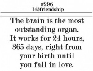 ... for hours days right from birth until you fall in love picture quotes