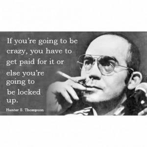 hunter s thompson quote -