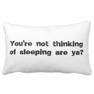 Funny Insomnia Gifts and Gift Ideas