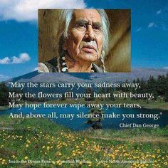 Cherokee - Chief Dan George