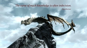 quotes The Elder Scrolls V: Skyrim Paarthurnax
