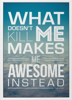 Awesome - quotes Photo