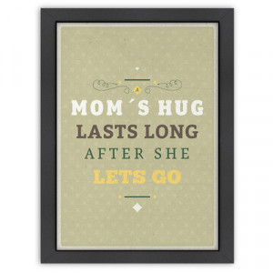 ... at home mom amp39s hug poster work ethic from his mother find more