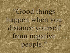 STAAK QUOTES: Negative People