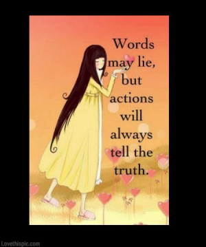the truth will always come out ....