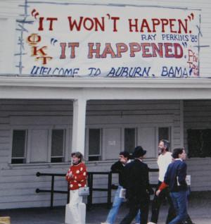 The Top Ten Auburn Games Played at Jordan-Hare, 1981-2000, Part 3 ...