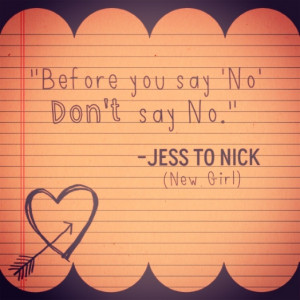 New Girl - Nick and Jess -