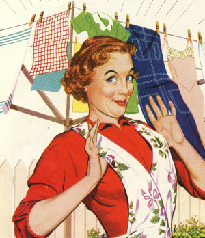 Somehow I'm not finding it as easy as the 1950's women did to get ...