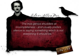 About Edgar Allan Poe Quotes Widget