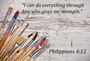 ... do everything through him who gives me strength.