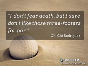 Chi Chi Rodriguez, what a legend