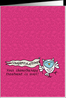 Chemo Treatment Over - Pediatric Cancer Patient Encouragement card ...