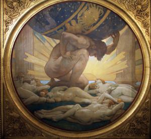 atlas god greek mythology
