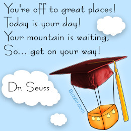 Dr. Seuss quote for graduating students