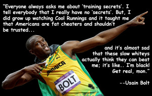 Inspiring Quotes Usain Bolt