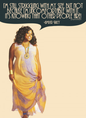 Posted on February 7th, 2012 and tagged amber riley , quote ,