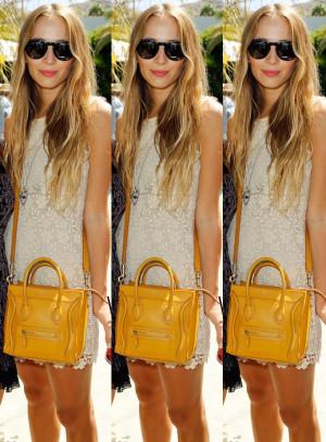 harley viera newton lace dress summer coachella sunnies yellow céline ...