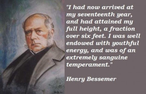Henry bessemer famous quotes 2