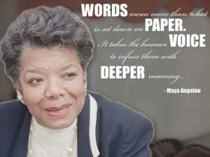 April 4, 1928 - May 28, 2014 --Quote: Words mean more than what is set ...