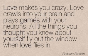 Funny Quotes about Crazy love