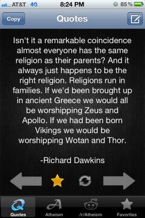 Richard Dawkins - Atheism App