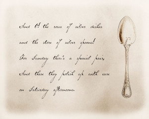 ... and spoon image ). I love her blog! It's definitely one of my favs