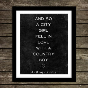 quotes about country boys and city girls