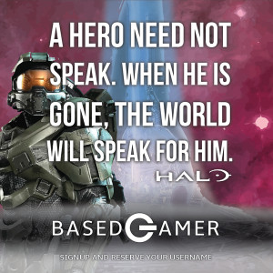 Halo Quote BasedGamer