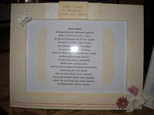 ... in Blog |Comments (0)| Email this | Tags : godmother baptism quotes